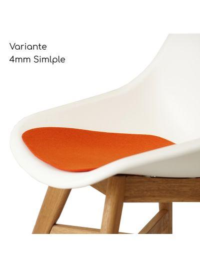 Eco Filz Sitzkissen geeignet für Ikea Fanbyn mit Armlehne