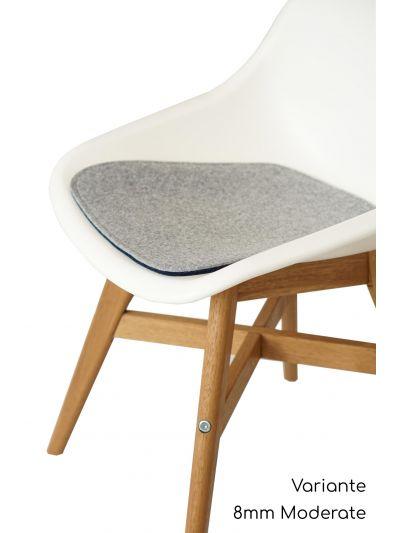 Eco Filzkissen geeignet für Ikea Fanbyn ohne Armlehne