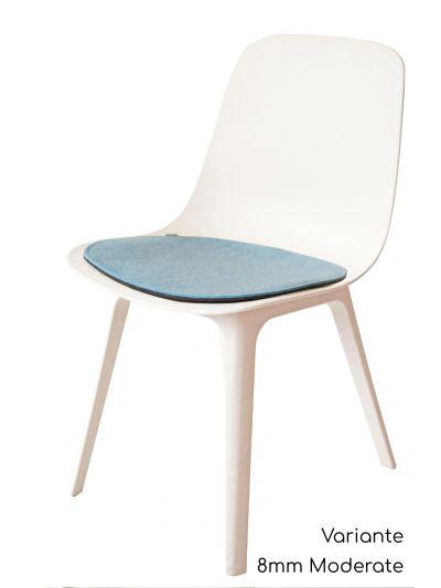 Eco Filz Sitzkissen geeignet für Ikea Odger
