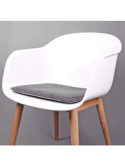Eco Filz Sitzkissen geeignet für Muuto -  Fiber Armchair