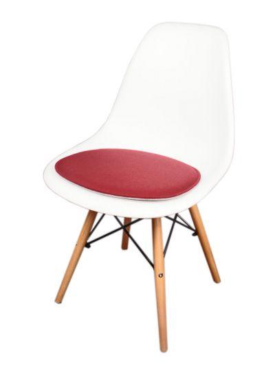 Eco Filz Sitzkissen geeignet für Vitra Eames Sidechair DSW,DSR,DSX,DSS