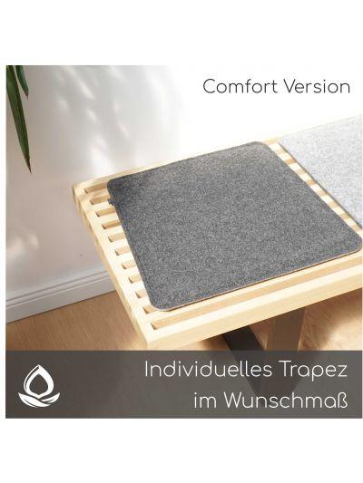 Stuhlauflage nach Maß - Trapezform - Comfort