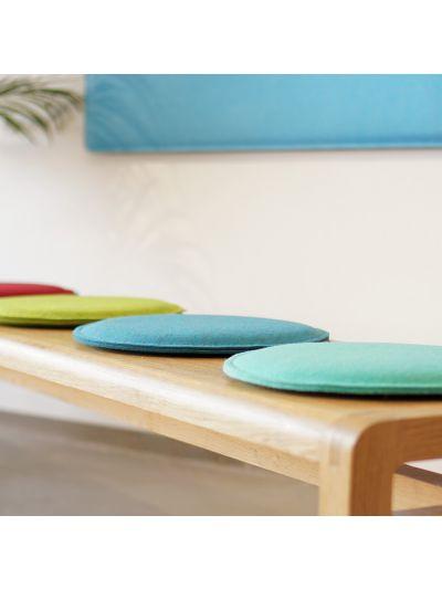Eco Filz Auflage individueller Kreis - rund/oval - Comfort