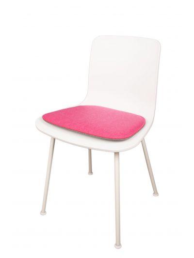 Eco Filz Sitzkissen geeignet für Vitra HAL tube wood ply
