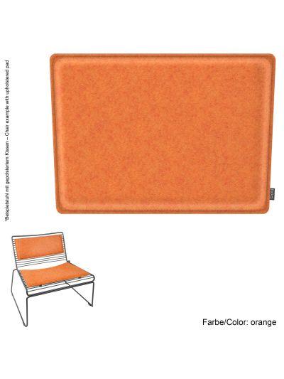 Sale: 1x Hee Lounge Kissen inkl. Rückenkissen in orange