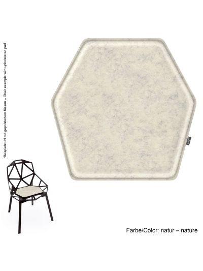 Eco Filz Kissen geeignet für Magis Chair One