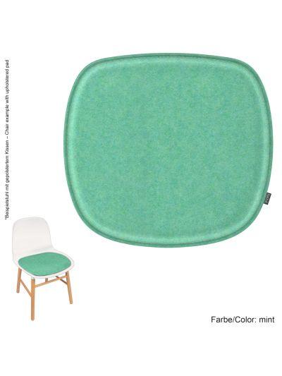 Eco Filz Kissen geeignet für Normann Copenhagen Form Chair ohne Armlehne