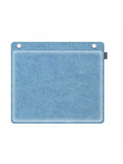 Sale:  Wandkissen 40x30cm runde Ecken lichtblau